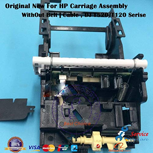 - Printer Parts Genuine New CQ890-60239 CQ890-67002 CQ893-60077 Carriage Ass'y Without Cable/Belt/Stirp for HP T120 T520 36inch 24inch Serise