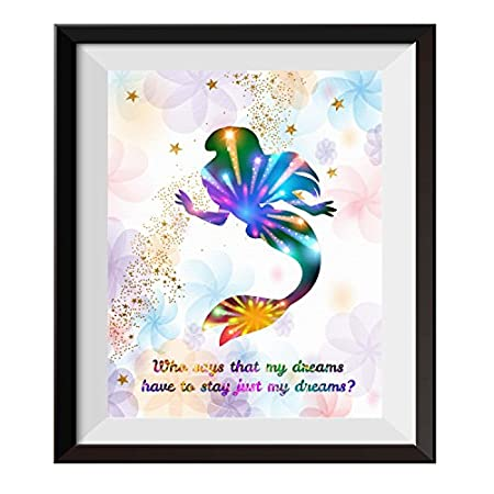 51deEcl-wUL._SS450_ Mermaid Wall Art and Mermaid Wall Decor