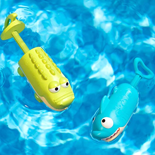 51deEfr7a7L - B toys by Battat – Splishin' Splash Animal Water Squirts Duo Pack – Summer and Water Toys for Kids 18 m+ (2-Pcs)