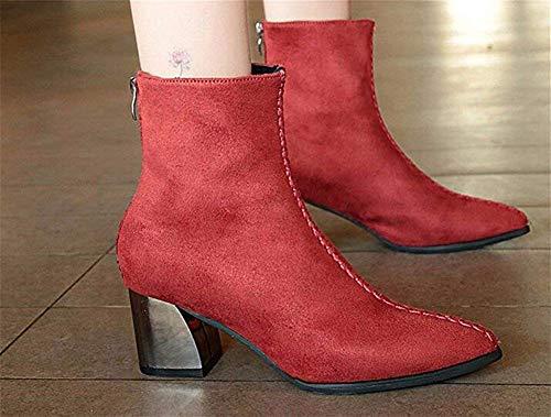 Botas Todos Partidos Algodón Nerriga Bajos Eu Zapatos De Femeninas 38 Heladas Invierno Deed Con Gruesas Los Aumentadas x4dwC4qY