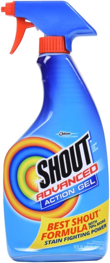 Shout Advanced Action Gel 22 oz by SC Johnson: Amazon.es: Salud y ...