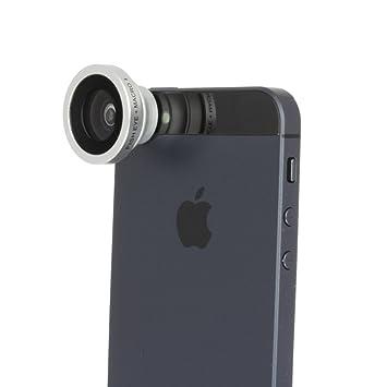 Iboolo-IBA8002M-Objetivo (cámara 2 en 1 Ojo de pez y Macro, 180 ...