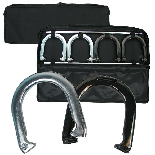 Executive Deluxe Horseshoe Set with Easy Carry Bag by tm global