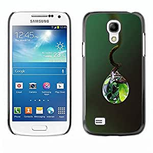 Be Good Phone Accessory // Dura Cáscara cubierta Protectora Caso Carcasa Funda de Protección para Samsung Galaxy S4 Mini i9190 MINI VERSION! // Nature Life Water Drop