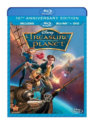 Blu-ray : Treasure Planet: 10th Anniversary Edition (With DVD, Anniversary Edition, Dubbed, , 2 Disc)
