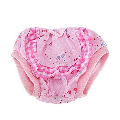 ROKOO Perro Mascota Pañal Fisiológico Sanitario Pantalones Lavables Perros Menstruación Ropa Interior Bragas: Amazon.es: Hogar