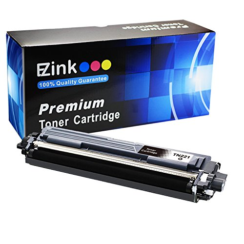 Mfc Brother Black Cartridge (E-Z Ink brother MFC9130CW Compatible Toner Cartridge Replacement for Brother TN221 B Black Compatible with HL-3140CW, HL-3170CDW, MFC-9130CW, MFC-9330CDW, MFC-9340CDW Laser Printer)