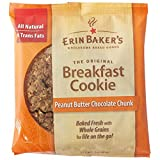 Erin Baker's Breakfast Cookie Peanut Butter Chocolate Chunk. 3-Ounce Individually Wrapped Cookies, 12 Count by Erin Baker's