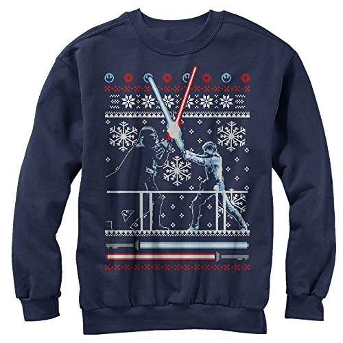 Star Wars Ugly Christmas Sweater Duel Sweatshirt