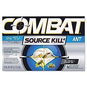 Combat Source Kill 4: Six Ant Bait Stations. Kills Queen & Entire Colony. Henkel 45901