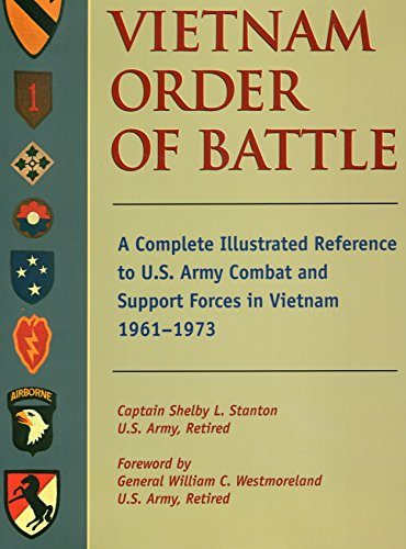 Vietnam Order of Battle: A Complete Illustrated Reference to U.S. Army Combat and Support Forces in Vietnam 1961-1973 (Stackpole Military Classics) by Stackpole Books
