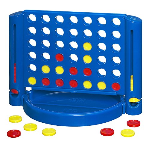 Hasbro Four Connect (Connect 4 Travel Fun On The Run; no. HG-22677)
