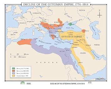 Osmanisches Reich Karte 1914.Universal Karte 30335 133 Niedergang Des Osmanischen Reiches 1774
