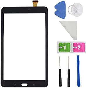 Black Touch Screen Digitizer For Samsung Galaxy Tab E 8.0 SM-T377 T377A T377V(Not include LCD) + Tools