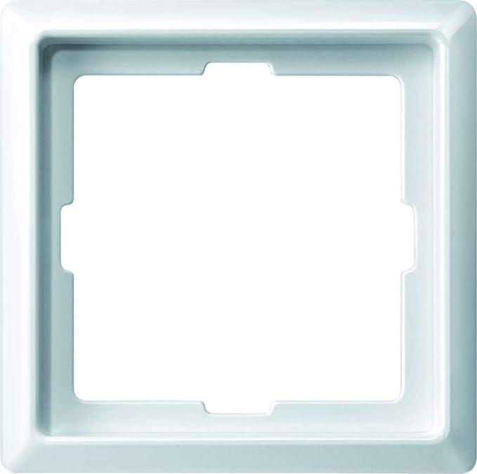 Merten 481119 Abdeckrahmen 1-fach polarweiß glänzend ARTEC Thermoplast