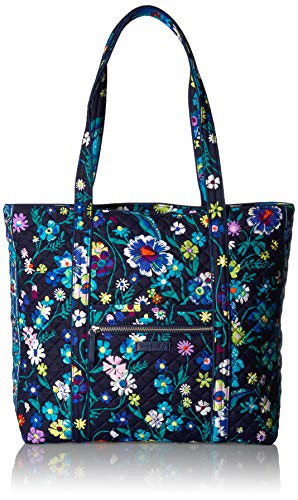 Vera Bradley Iconic Vera Tote, Signature Cotton, moonlight Garden]()