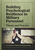 Building Psychological Resilience in Military Personnel