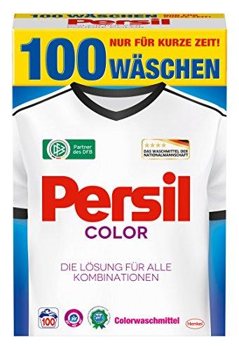 Persil Color-Pulver, 1er Pack (1 x 100 Waschladungen)