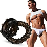 Sinfu® Sex Toys For Adult Couple Lover Play Games Dual Ring Men Male Soft Time Delay Ring #56