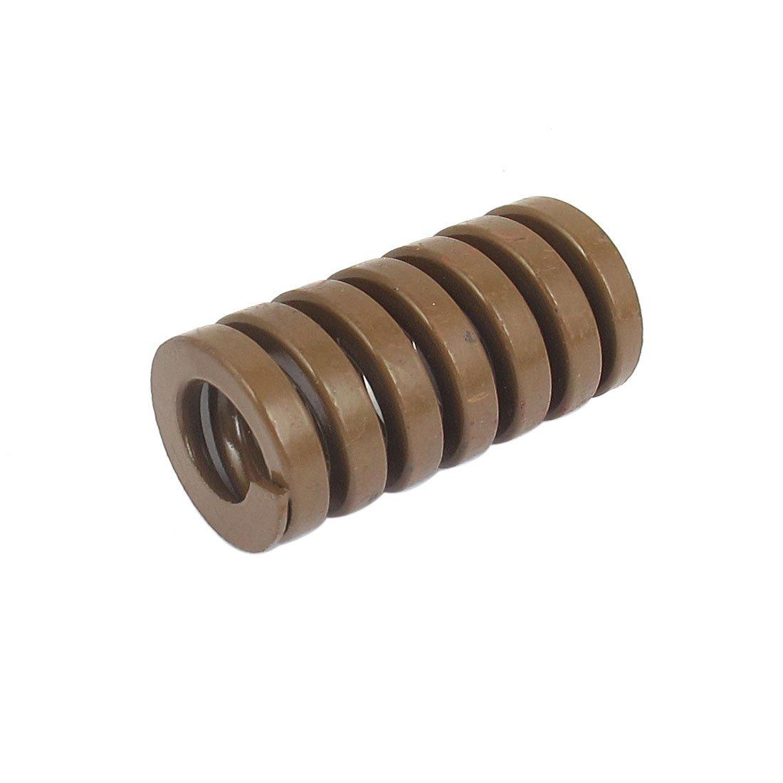 sourcingmap® 25mm Od De 50 mm De Largo Extra Carga Pesada Eespiral Estampación De Compresión Dado Muelle Marrón US-SA-AJD-125625