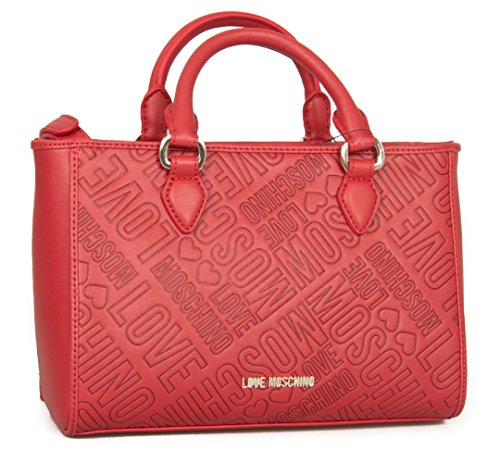 Love Moschino Embossed Logo Handtasche red_red x