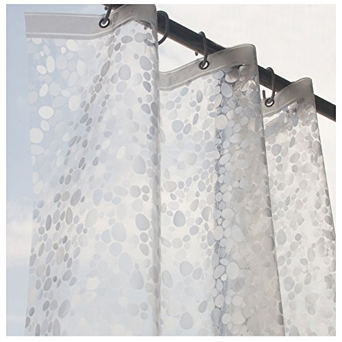 Eforcurtain Small 36 By 72 Inch Cobblestone Waterproof And