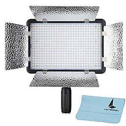 Godox LED500LR LED Video Light 5600K White Version w/ Reflectors & Remote Control for Studio Photography Video Recording (LED500LRW)