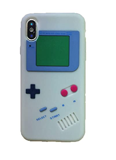 super popular a8522 c24e7 Apple iPhone X Case,Newstore Retro 3D Game Boy Gameboy Style Soft Silicone  Cover Case For Apple iPhone X 5.8 inch With A Free Packing With Newstore ...