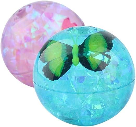 WRUMLJUFX Los niños de Cristal Luminoso balón Hinchable impactan ...