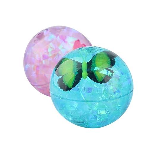 WRUMLJUFX Los niños de Cristal Luminoso balón Hinchable ...