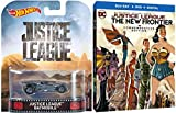 Justice League: The New Frontier Commemorative Steelbook Exclusive Blu Ray DVD + Batman Batmobile Hot Wheels Car Justice league version DC Super Heroes Set