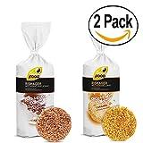 Good Food Chocolate Milk | Caramel Rice & Corn Cakes BUNDLE Pack of 2 5.11oz Each