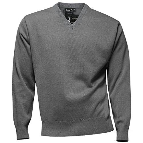 Franco Ponti - Pull - Homme gris gris taille unique