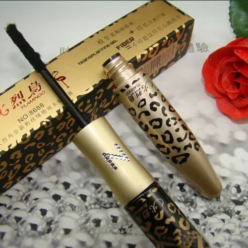 Makeup Lengthening Eyelash Black Gel Natural Fiber Mascara Long Curling (Non Smudge Halloween Makeup)