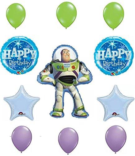 - Toy Story Buzz Lightyear Happy Birthday Balloon Decoration Kit