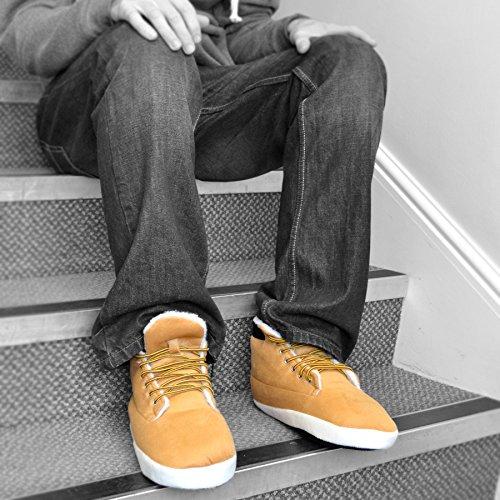 Zapatillas tipo bota para hombres (1 par)