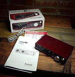 Focusrite Scarlett 2i2 (1st GENERATION) USB Recording Audio Interface
