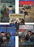 Limbaugh's 5-book RUSH REVERE series -- Rush Revere and the . . . Brave Pilgrims / First Patriots / Star-Spangled Banner / American Revolution / Presidency