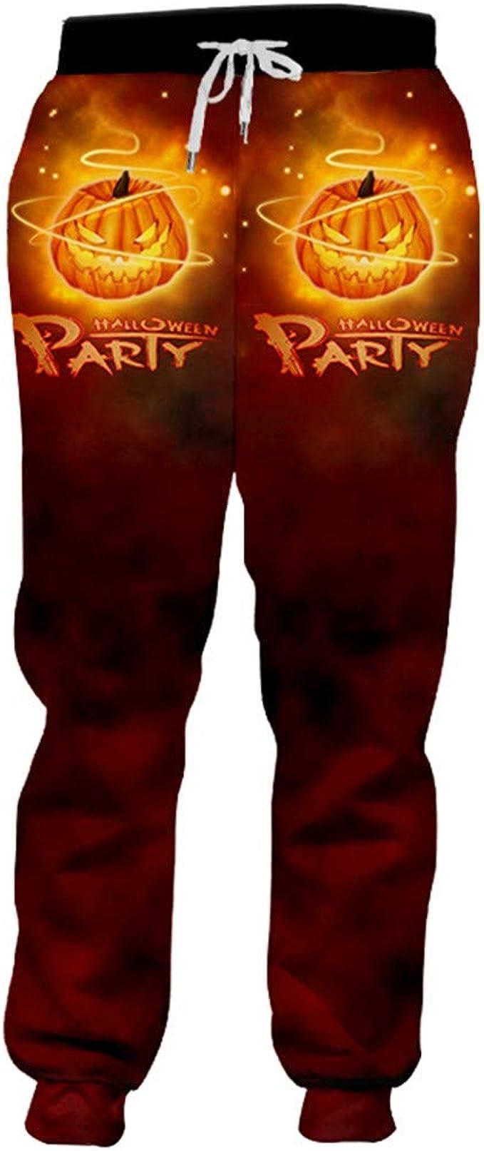 BFP-Tenos Pantalones de Hombre Creativo de Halloween Pantalón ...