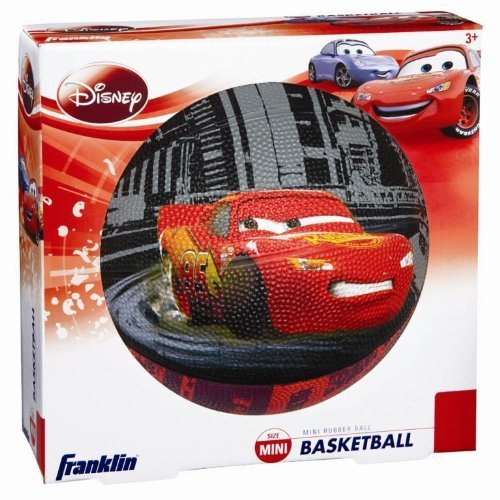 Franklin Kids Disney and Pixar Cars Mini Rubber Basketball by Franklin Sports