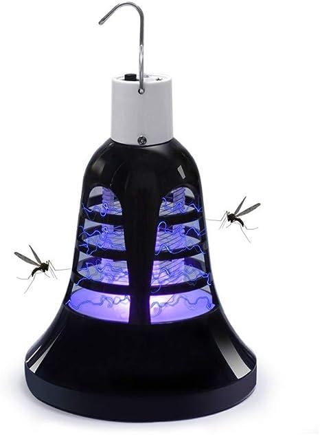 Lámpara de Mosquitos Usb,Jardín Al Aire Libre USB de Carga LED Mosquito Killer Bombilla Escaladores Escaladores Mosquitos Repelente Jardín de Control de Plagas herramientas: Amazon.es: Bebé