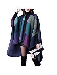 Womens Ladies Autumn Winter Fashion Cloak Capes Cardigans Coat