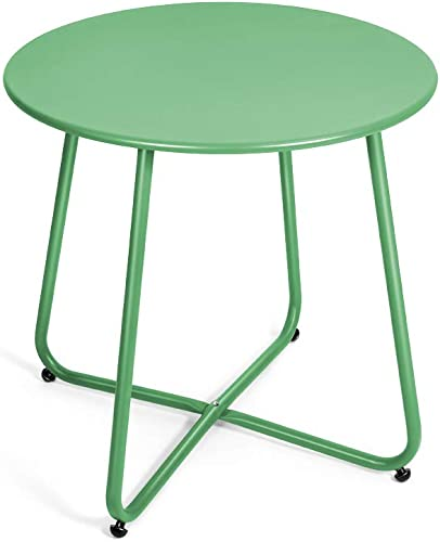 Pationate Patio Metal Side Table