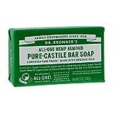 Dr. Bronner's Magic Soaps: Pure Castile Bar Soap, Almond 5 oz (12 pack)