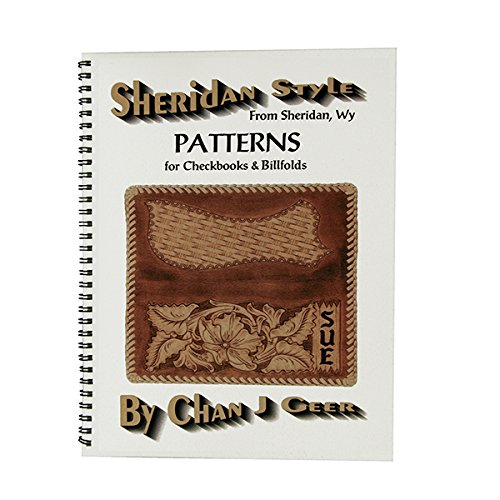 Billfold Pattern - Weaver Leather Sheridan Style Checkbooks and Billfolds Pattern Book