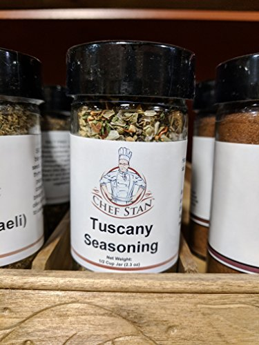 Tuscany Italian (Chef Stan's Authentic Tuscan Italian Seasoning Mix Hand-Blended Tuscany-Style Seasoning Premium Dried Herbs & Spices Extra-Fresh Seasonings for Steak, Chicken, Bread Dipping Oil and more.)