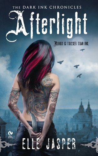 book cover of Afterlight