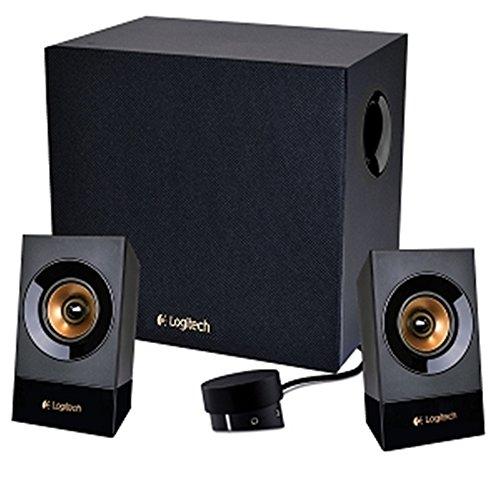 Logitech Z533 2.1Channel 120Watt Woofers & Subwoofers(Refurbished) (Logitech Z533 Multimedia Speakers 3 Piece Black)