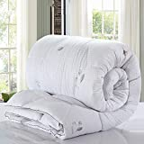 Polyester bed/bedding Warmth Full/Queen/Full/Twin Size Comforter Duvet Insert,Hypoallergenic Box Stitched,Brushed Velvet Feather Quilt,Light Dance,200×230cm(3Kg)