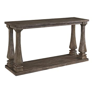 Signature Design by Ashley Johnelle Sofa Table, Gray